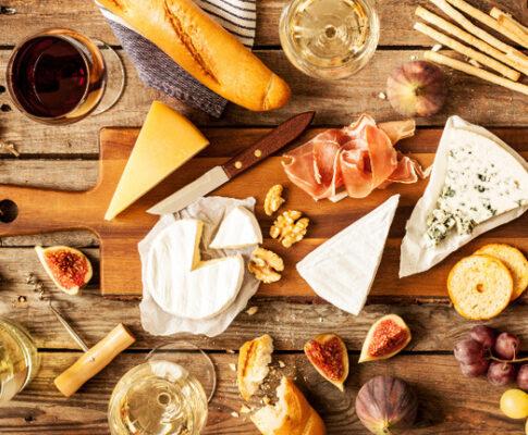 Wijn kaas combinatie seniorensoos