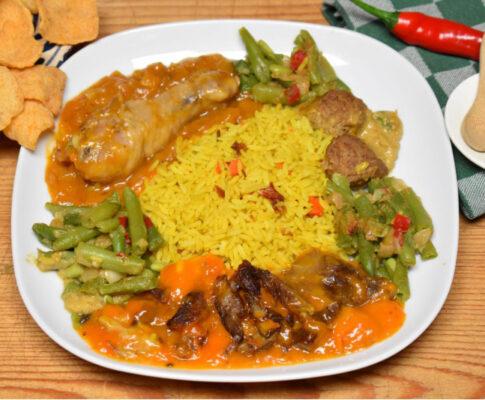 indische rijsttafel seniorensoos